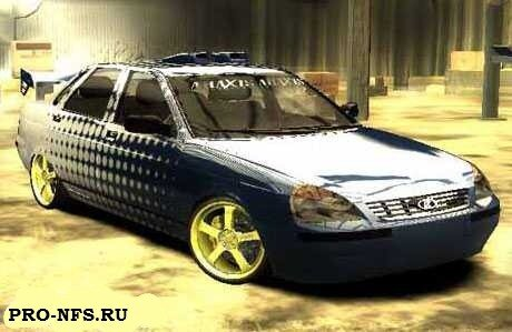 Lada Priora (ВАЗ 2170) для NFS: Most Wanted - русская машина жигули