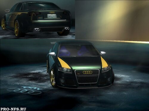Мод на NFS Undercover - New textures for Audi RS4 (новые текстуры для Audi RS4)