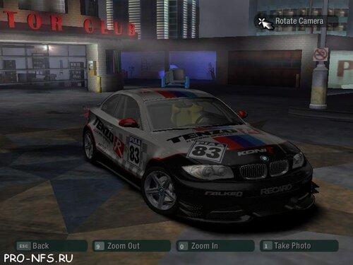 BMW 135i для NFS Most Wanted - новый автомобиль