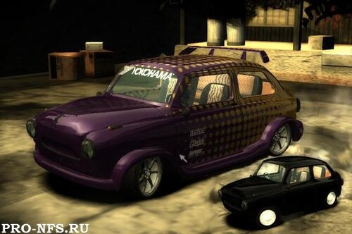NFS MW - ЗАЗ 965 - русская машина для nfs
